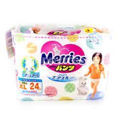 Merries XL12-22 Kg Pants Type 24 Pieces