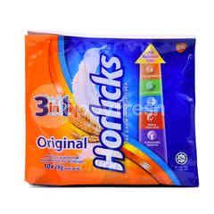 Horlicks Original Nutritious Malted Drinks (10 Sticks)