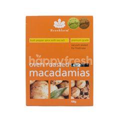 Brookfarm Oven Roasted Macadamias Bush Pepper Spice