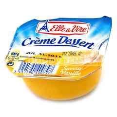 Elle & Vire Crème Dessert Saveur Vanille Pudding
