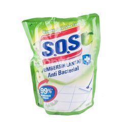 S.O.S Anti Bacterial Floor Cleaner Apple Wonder 1600ml