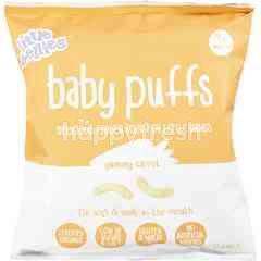 LITTLE BELLIES Baby Puffs - Carrot (12g)