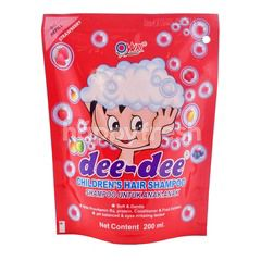 Dee-Dee Children's Hair Shampoo Strawberry Refill