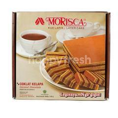 Morisca Kue Lapis Coklat Kelapa
