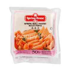 Spring Home Spring Roll Pastry Kulit Popia (50 Pieces)