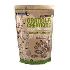 Granola Creations Bali Crunch Authentic Toasted Muesli Cinnamon & Snake Fruit