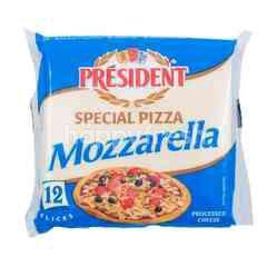 President Special Pizza Mozzarella Cheese (12 Slices)
