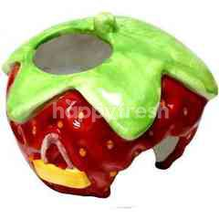 Trustie Small Animal Home - Strawberry
