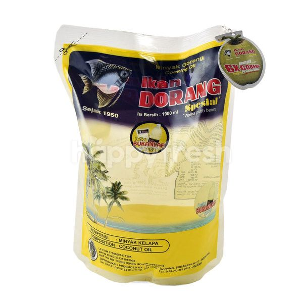 Ikan Dorang Special Palm Cooking Oil