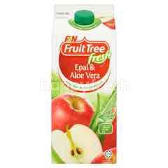 F&N Fruit Tree Fresh Apple Fruit Drink & Aloe Vera