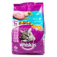 Whiskas Makanan Kucing Rasa Ikan Laut dengan Salmon Pocket