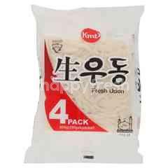 Kmt Hanil Fresh Udon Sanuki Noodles (4x200g)