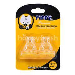 FIFFY 2 Standard Neck Nipples