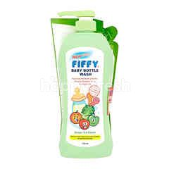 FIFFY Green Tea Flavoured Baby Bottle Wash With Refill