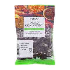 Tesco Dried Condiment Black Pepper