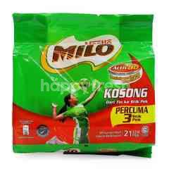 Milo Nutritious Chocolat Malt Drink Mix (21 Stick Packs (Free 3 Stick Packs)