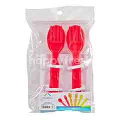 HomeCo Spoon Fork Tropical