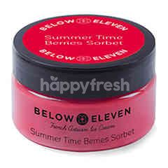 Below Eleven Ice Cream Cup Summer Time Berries Sorbet 90 ml