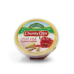 Wattle Valley Chunky Dips Chilli Red with Cashew & Parmesan