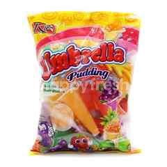 Rico Assorted Fruit Flavoured Umbrella Pudding (24 Cups)