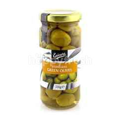 EPICURE Stoneless Green Olives