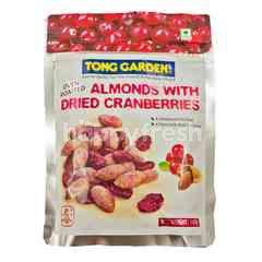 Tong Garden Kacang Almond dengan Kranberi Kering