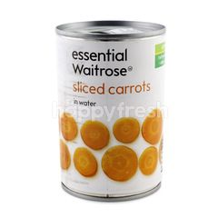 Essential Waitrose Sliced Carrots