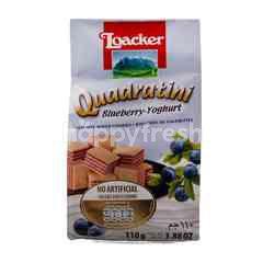 Loacker Quadratini Blueberry - Yoghurt
