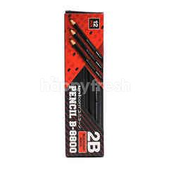 Unicorn 2B Blacklead Pencil (12 Pieces)
