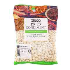 Tesco Dried Condiment Lab Lab Bean