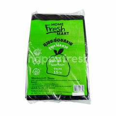 Home Fresh Mart Garbage Bags Non Toxic Plastic 26 X 34 inch