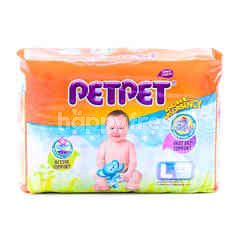 PETPET Baby Diapers Size L (24 Pieces)