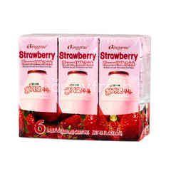 Binggrae Strawberry Milk (6 Pieces)