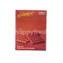 Simplex Kondom Super Thin Cokelat