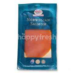 NORSK SJOMAT AS Norwegian Salmon Smoked Salmon Presliced With Pepper
