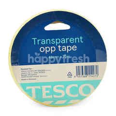 Tesco Transparent Opp Tape 48mm X 75m