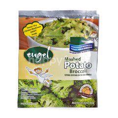 Engel Tepung kentang Instan dengan Brokoli