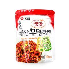 Chongga Seasoned Dried Radish Kimchi