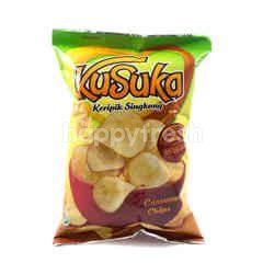 Kusuka Cassava Chips Barbecue
