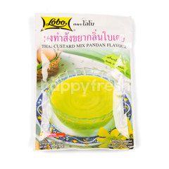 Lobo Thai Custard Mix Pandan Flavour