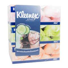 Kleenex Floral Facial Tissue 150 Sheets (3 Boxes)