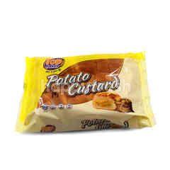 Top Baker Potato Custard Flavoured Bun