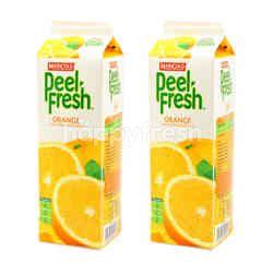 Marigold Peel Fresh Orange Juice Drink With Sacs Twinpack