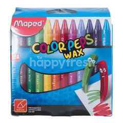 Maped Color'peps Wax Crayons
