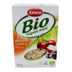 Emco Bio Organic Mã¼Sli Traditional With Fruit Pieces Cereal