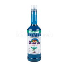 Shave Ice Blue Hawai Concentrate Syrup