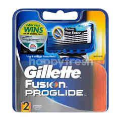 Gillette Fusion Proglide Shaving Razor (2 Pieces)
