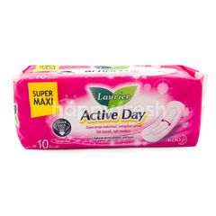 LAURIER Active Day Super Maxi Non Gel (10) Sanitary Pad
