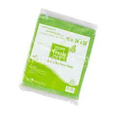 Home Fresh Mart Green & Non Toxics Plastic Bag
