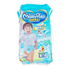 Mamy Poko Pants Extra Soft For Boys L 28 Pcs